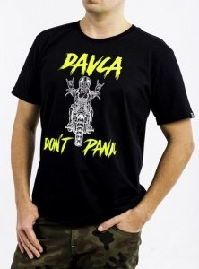 DAVCA T-shirt don't panic