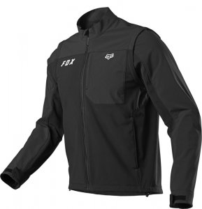 FOX KURTKA ENDURO LEGION SOFTSHELL BLACK