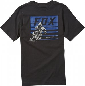 FOX T-SHIRT JUNIOR ADVANTAGE BLACK