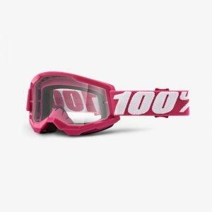 100 PROCENT GOGLE MODEL STRATA 2 FLETCHER CLEAR