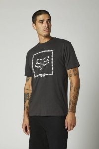 FOX T-SHIRT CELL BLOCK PREMIUM BLACK VINTAGE