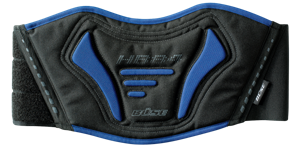 BUSE Pas nerkowy Taslan czarno-niebieski