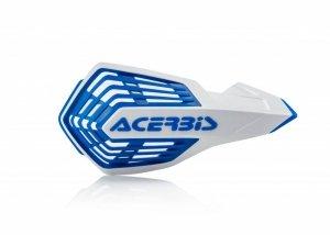 Acerbis Handbary X-FUTURE biało - niebieski