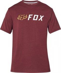 FOX T-SHIRT APEX TECH CRANBERRY