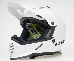KASK LS2 MX437 FAST EVO MINI SOLID WHITE