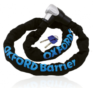 Oxford łańcuch Barrier Chain Lock SS kolor czarny