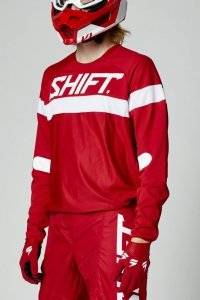 SHIFT BLUZA OFF-ROAD WHITE LABEL HAUT RED