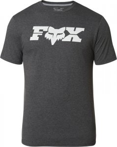 FOX T-SHIRT GENERAL TECH HEATHER BLACK
