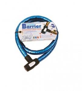 Linka OXFORD Barrier z zamknięciem długość 1.5m x 25mm kolor niebieski BS