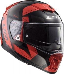 KASK LS2 FF390 BREAKER PHYSICS BLACK RED