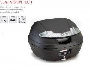 GIVI E340NT Kufer monolock 34L czarny mat tech