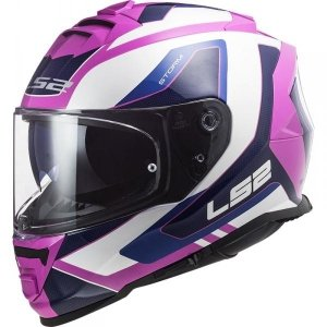 KASK LS2 FF800 STORM TECHY WHITE PINK
