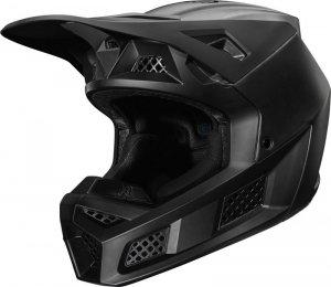 FOX KASK OFF-ROAD V-3 RS MATTE BLACK