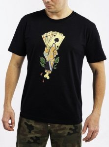 DAVCA T-shirt cards black