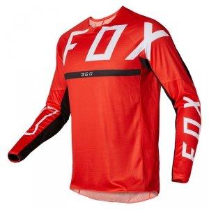 FOX BLUZA OFF-ROAD 360 MERZ FLUORESCENT RED