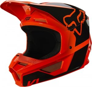 FOX KASK JUNIOR V-1 REVN ORANGE