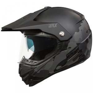 IMX KASK OFF-ROAD MXT-01 PINLOCK READY BLACK/CAMO