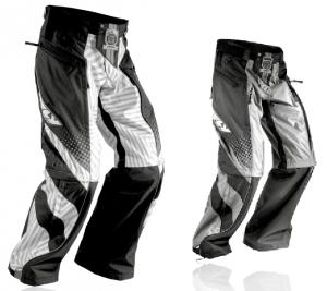 Spodnie PATROL, FLY. ZONE Czarno-szary, Czarno-szary