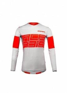 Acerbis bluza off-road Linear MX biało-czerwona