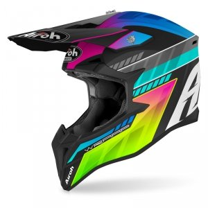 AIROH KASK OFF-ROAD WRAAP PRISM MATT