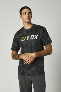 FOX T-SHIRT APEX CAMO TECH BLACK CAMO