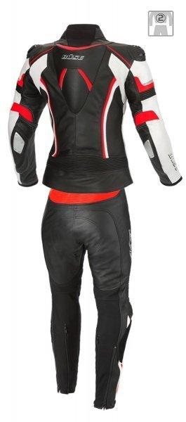 BUSE Mille Kombinezon motocyklowy damski czarno-czerwony