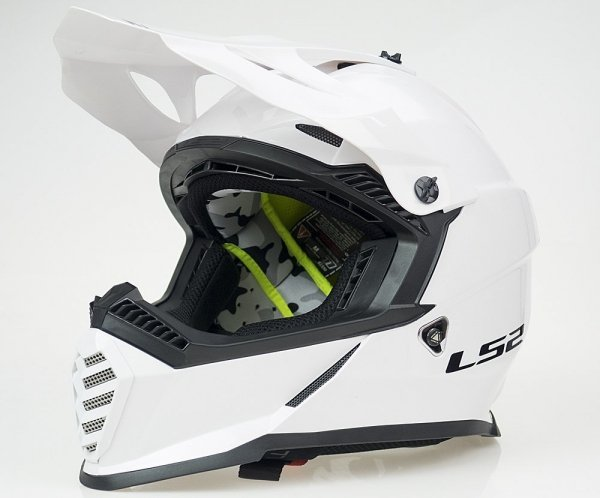 KASK LS2 MX437 FAST EVO MINI SOLID WHITE