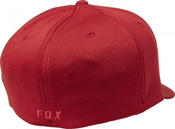 FOX CZAPKA Z DASZKIEM  LITHOTYPE FLEXFIT RED
