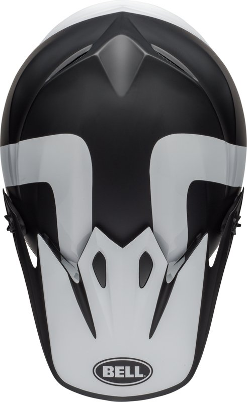 BELL KASK OFF-ROAD MX-9 MIPS PRESENCE BLACK/WHITE