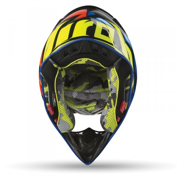 AIROH KASK  OFF-ROAD AVIATOR 2.3 GREAT BLUE GLOSS