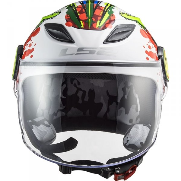 KASK LS2 OF602 FUNNY JUNIOR CROCO WHITE