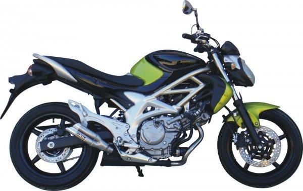 IXIL Tłumik Suzuki SFV650 Gladius dual