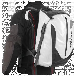 BUSE  Plecak wodoodporny 30 litrów biało-czarny