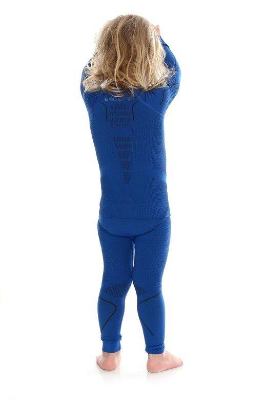 Brubeck Spodnie  THERMO Kids niebieski