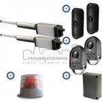 Zestaw Somfy Ixengo S 24V Comfort Pack (2 piloty 4-kanałowe Keygo, lampa z anteną, fotokomórki, akumulator)