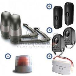 Zestaw Somfy Axovia 220B RTS Comfort Pack (2 piloty 4-kanałowe Keygo, lampa z anteną, akumulator, fotokomórki)