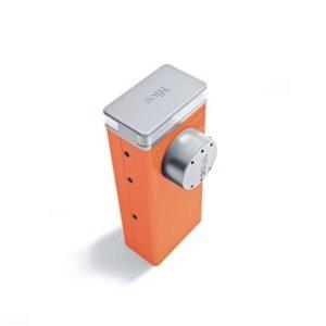 LBAR Szlaban elektromechaniczny o długości ramienia 7, 8, 9 m, do pracy bardzo intensywnej.