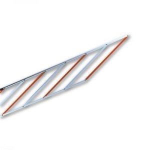 WA13 listwy aluminiowe zabezpieczające w odc. 2 m (do szlabanów M7BAR/LBAR)