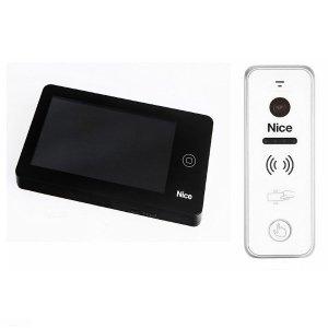 PRO BPLUS W - Zestaw wideodomofonowy z dotykowym ekranem dla domu jednorodzinnego.