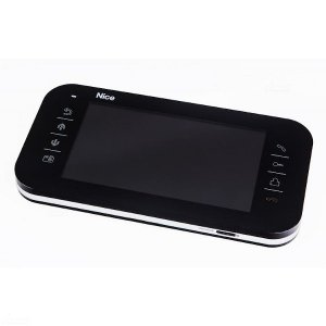 """VIEW B MONITOR - 7"""" wyświetlacz z czytnikiem kart micro SD i dotykowymi przyciskami"""