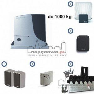 NICE ROBUS 1000P ERA FLOR - zestaw automatyki do bram przesuwnych