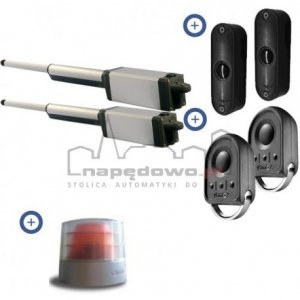 Zestaw Somfy Ixengo S RTS 230V Comfort Pack (2 piloty 4-kanałowe Keygo, lampa,fotokomórki)