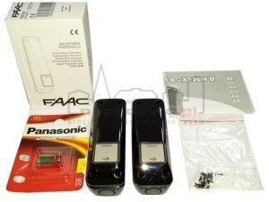Fotokomórki FAAC XP 20W D bezprzewodowe