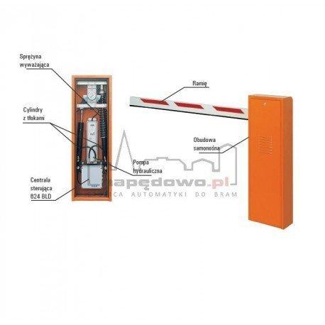 Zestaw 620 STD z ramieniem prostokątnym 4 m