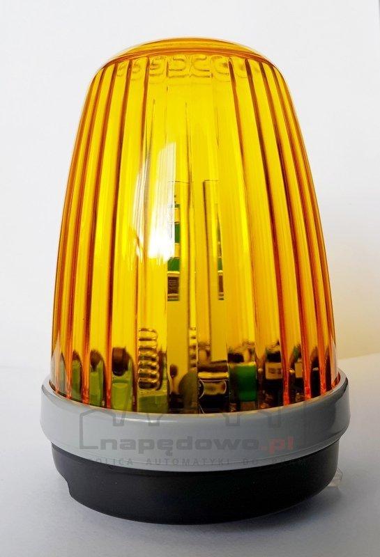 Lampa sygnalizacyjna żółta LED PROXIMA z wbudowaną anteną do napędów 12/24/230V