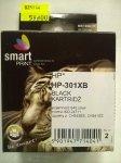 HP 301XL CZARNY          smart PRINT