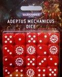 Zestaw kości - Adeptus Mechanicus Dice (20)
