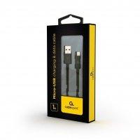 GEMBIRD CC-USB2P-AMmBM-1M Gembird kabel micro USB 2.0 AM-MBM5P, ładowanie, transmisja, 1m, czarny