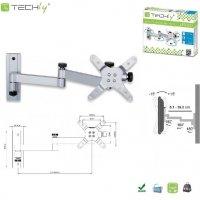 Uchwyt ścienny Techly LCD/LED 13-30 srebrny