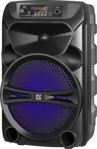 Głośnik Defender G110 Bluetooth 12W MP3/FM/SD/USB/AUX/TW<br />S/LED czarny